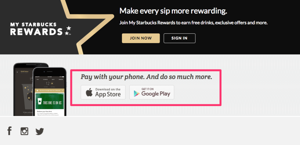 Starbucks App Promotion