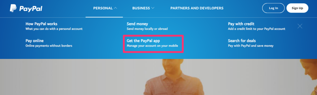 PayPal App Promotion