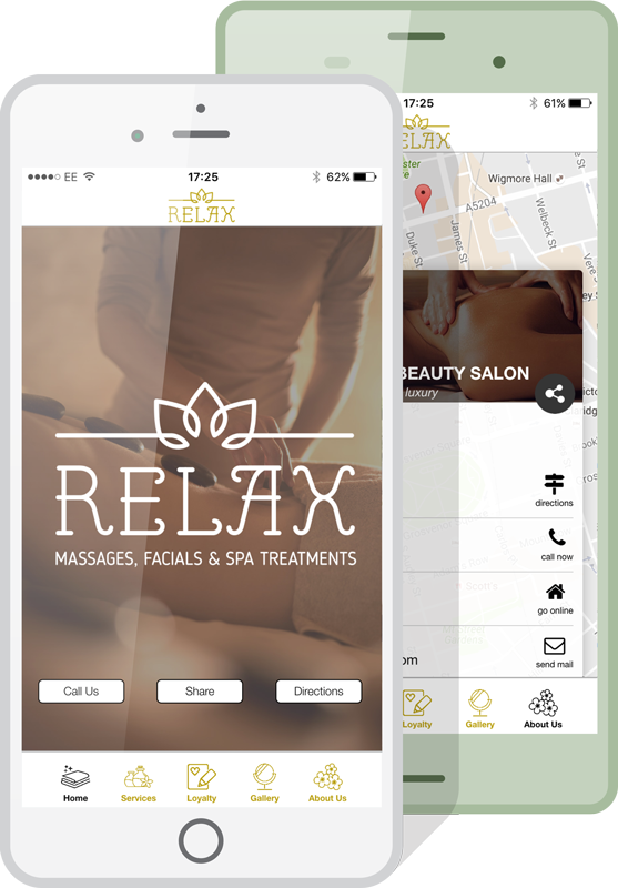 Make Your Own Beauty Salon App with our online App Builder
