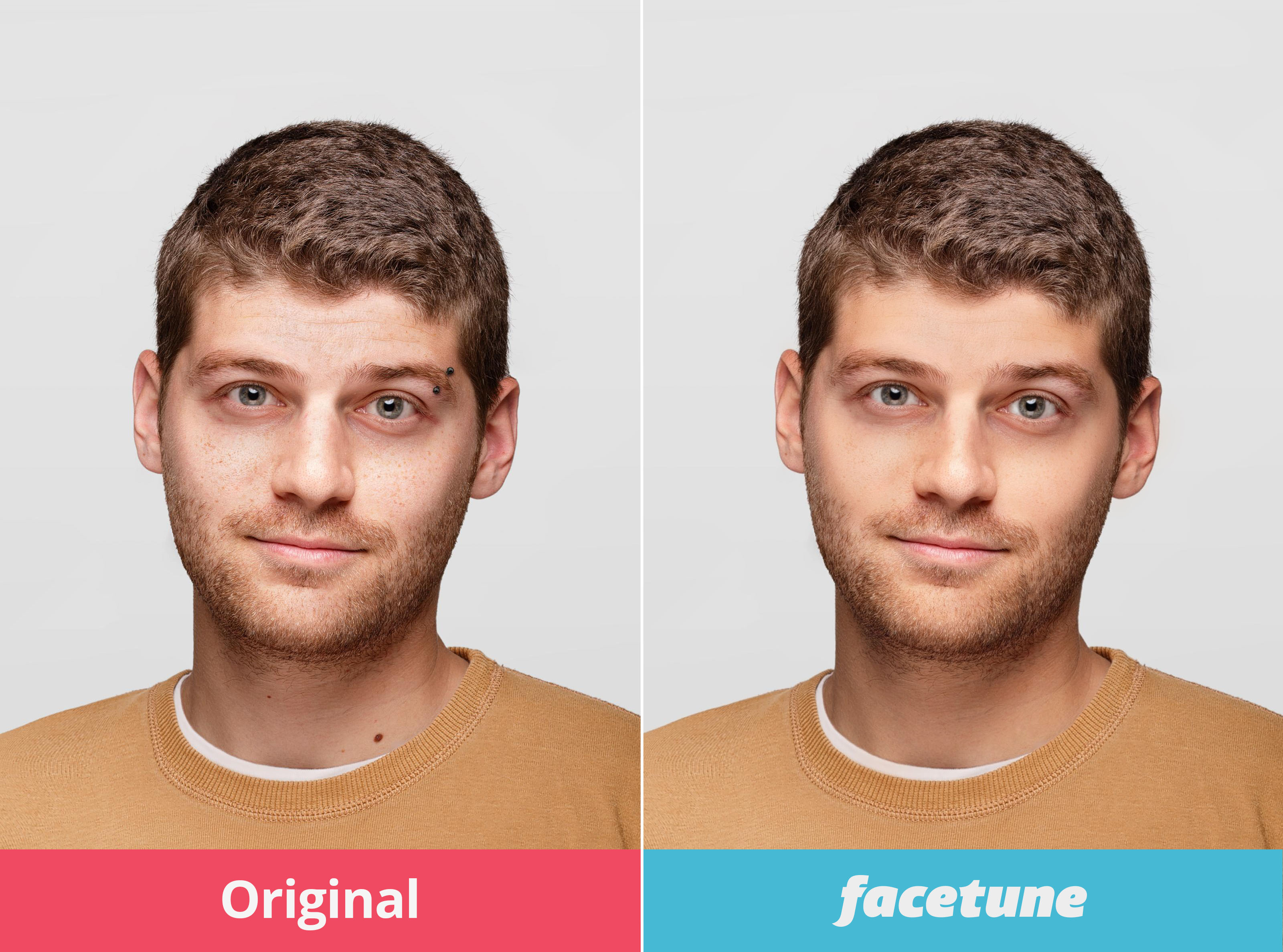 Face Tune Demo Photo