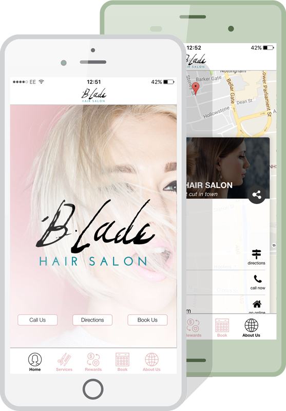hair salon app