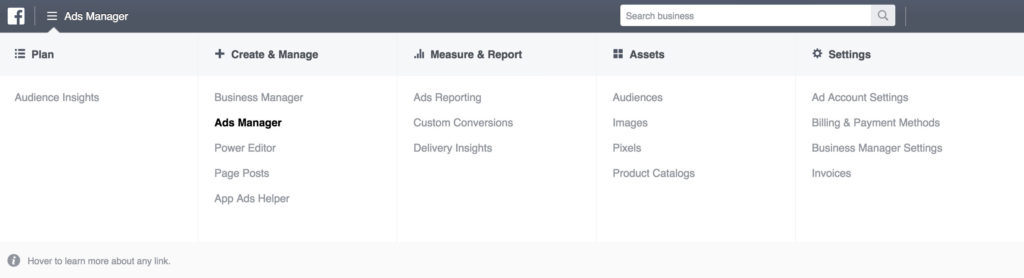 AppInstitute Facebook Ads Manager