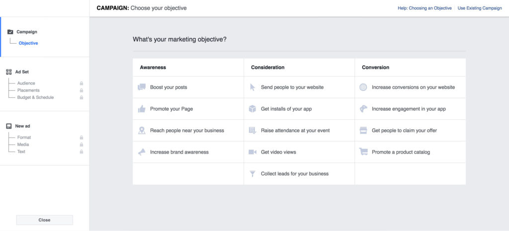 AppInstitute-Facebook-Ads-Objectives