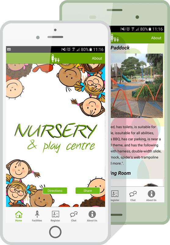 Daycare Marketing App