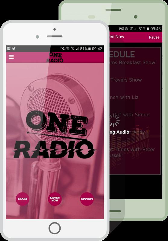Radio Apps Mockup