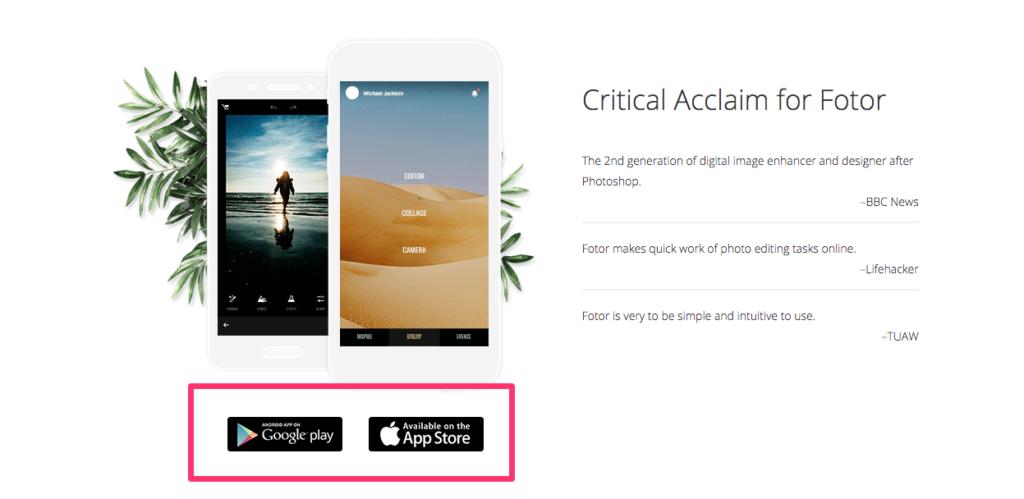 Fotor App Promotion