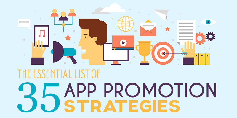35 App Promotion Strategies for Marketing your iOS & Android App