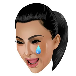 Crying Kimoji