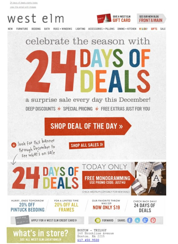 27 christmas marketing ideas for small businesses for 12 days of christmas salon specials