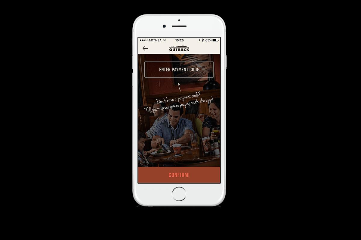 restaurant app payment