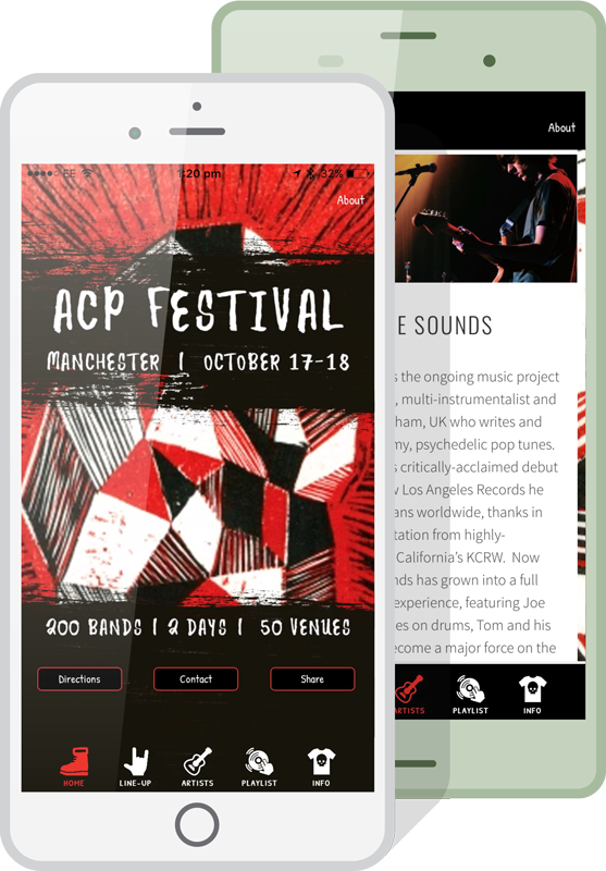 NCP Festival Event Apps Example