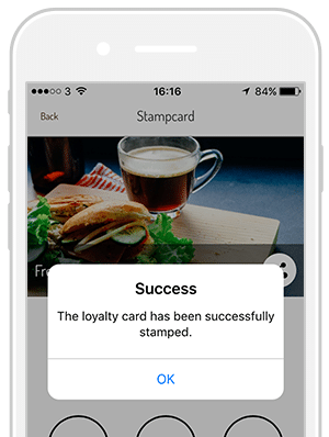 Appinstitute create a loyalty punch card app for your business successful punch card colourmoves