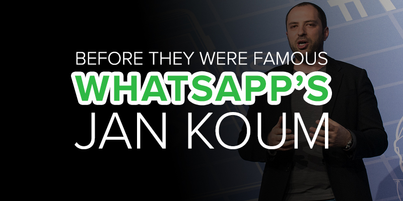 App Builders Before They Were Famous: WhatsApp's Jan Koum
