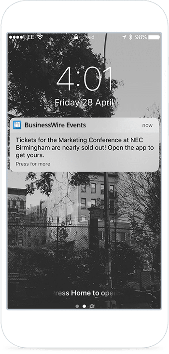 event-apps-push-notification
