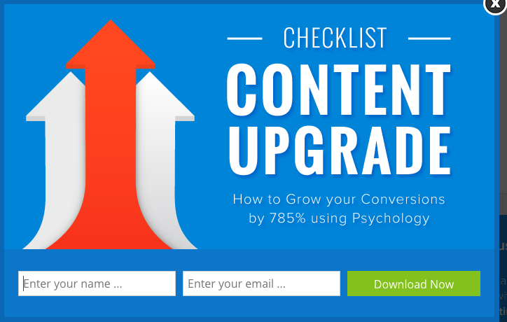 Checklist - Content Upgrade