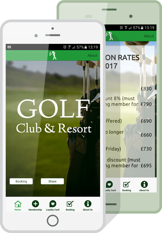 Create Your Own Golf Course App