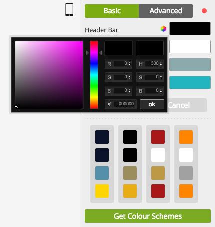Colour Scheme Editor