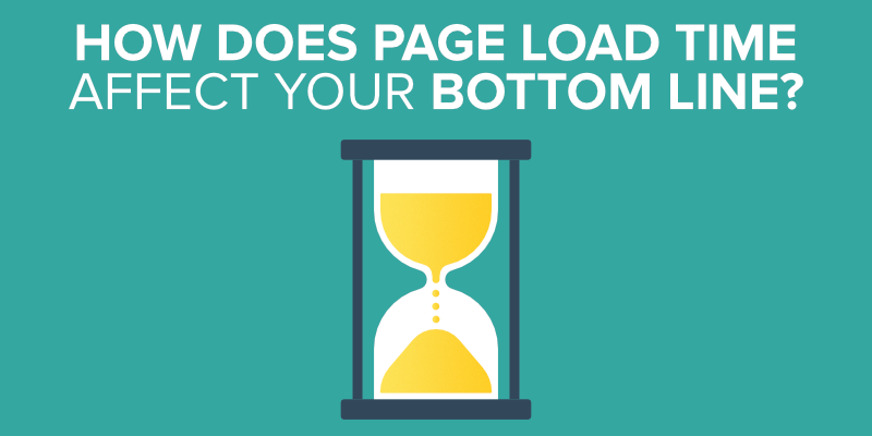 How Does Page Load Time Affect Your Bottom Line?