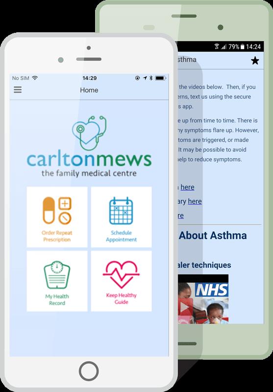 medical centre apps