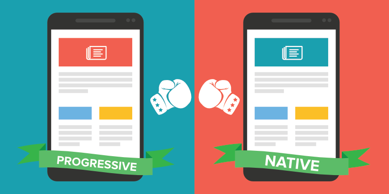 Progressive Web Apps vs Native Apps - Who Wins?