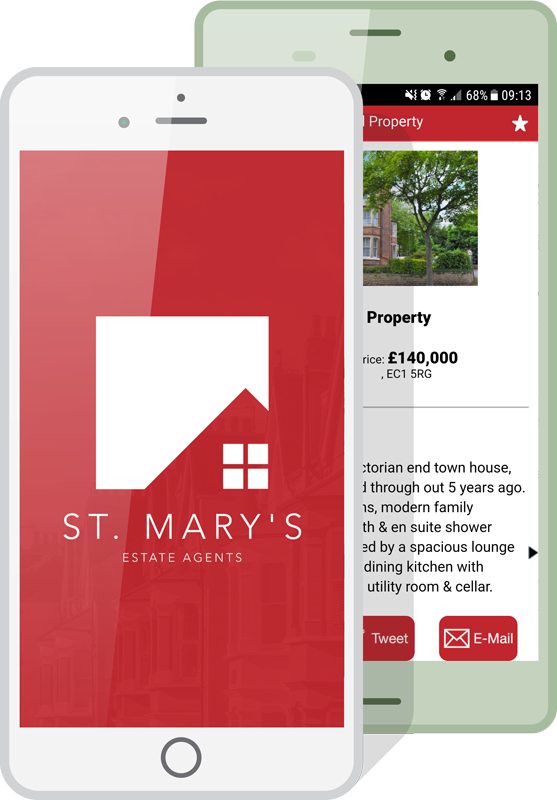 Estate Agent App on Ios and Android