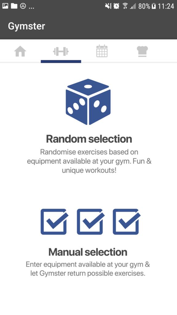 Gymster App