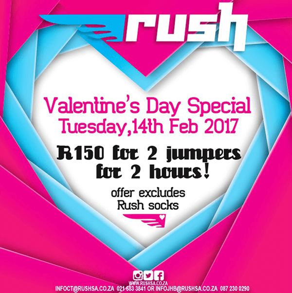 Rush Valentines Day Marketing Campaign