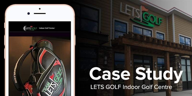 lets golf app builder case study