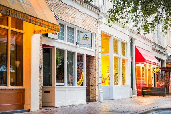retailer shop front