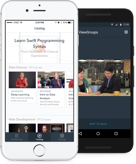 Udacity Mobile Interface