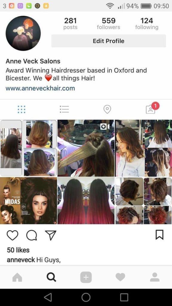 Anne Veck Instagram