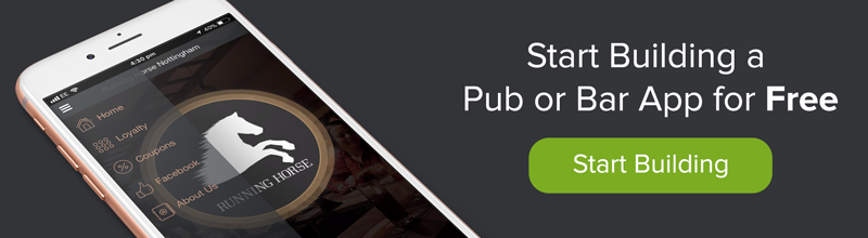 create your own pub or bar app