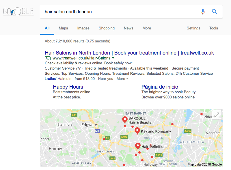 Hair Salon Marketing Local SEO Pack