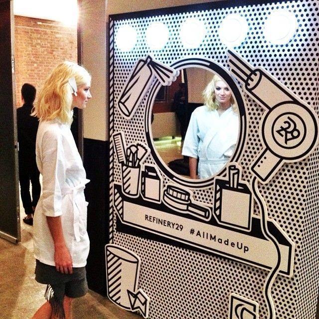 hair salon marketing selfie station