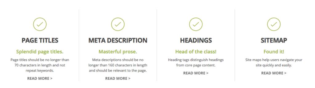 seo factors for hair salon website