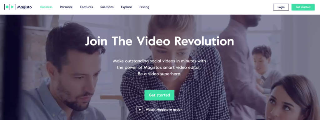 Magisto Video Marketing Tools