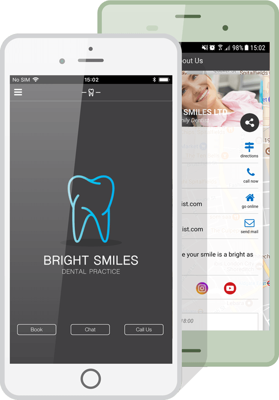 Dentist App for IOS and Android