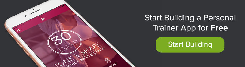 Personal Trainer App Banner