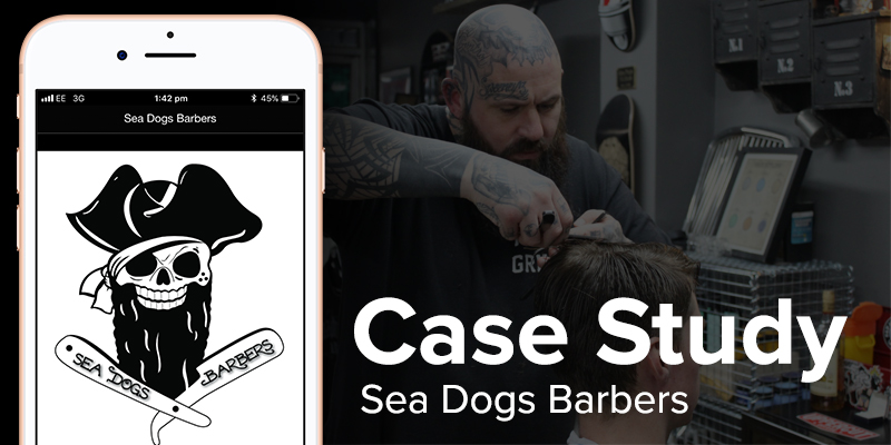 Sea Dog Barbershop App Case Study