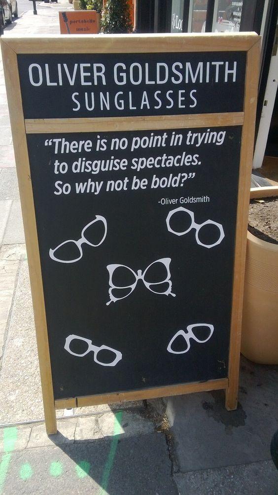 Optician Marketing Sandwich Board