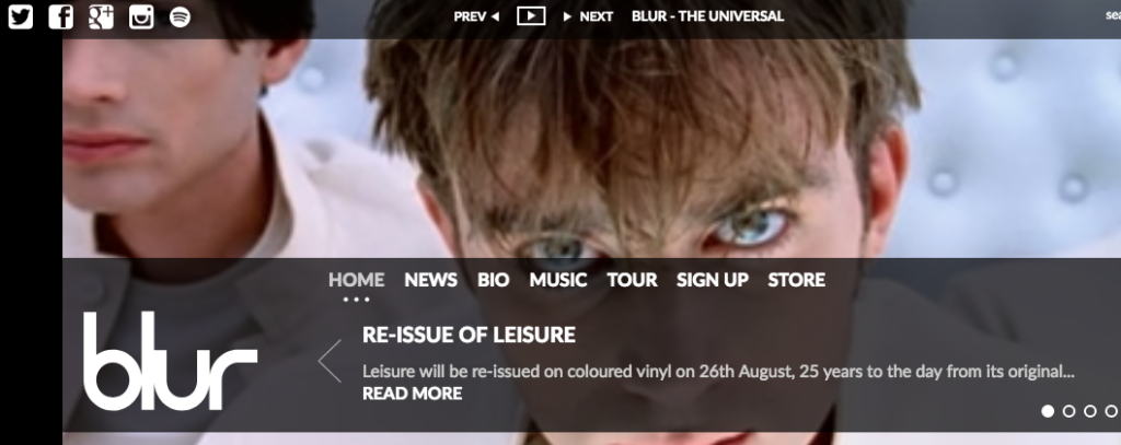 Blur Website