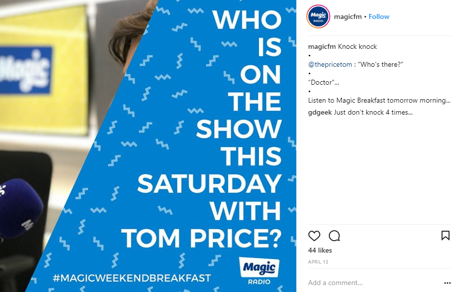 magic radio screenshot