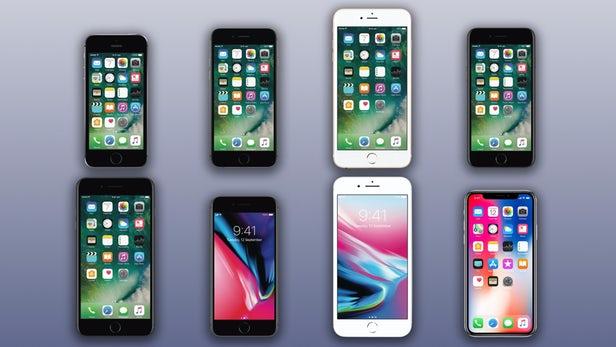 Different Iphone Size Comparison