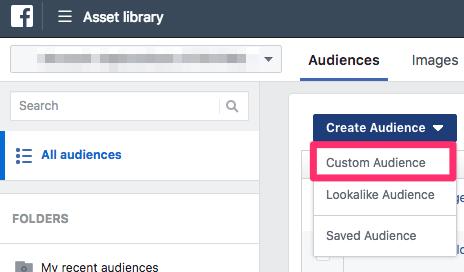 Create Custom Audience