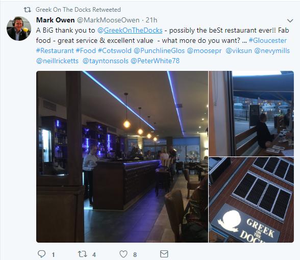 respond to restaurant customers twitter