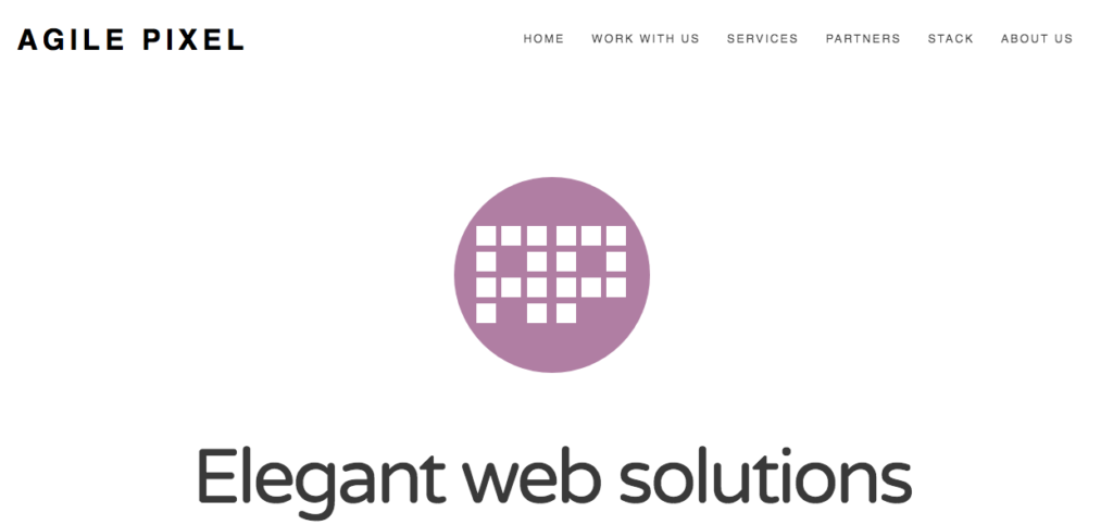 agile pixel website