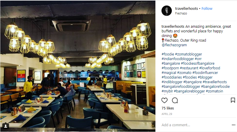 restaurant instagram ambience