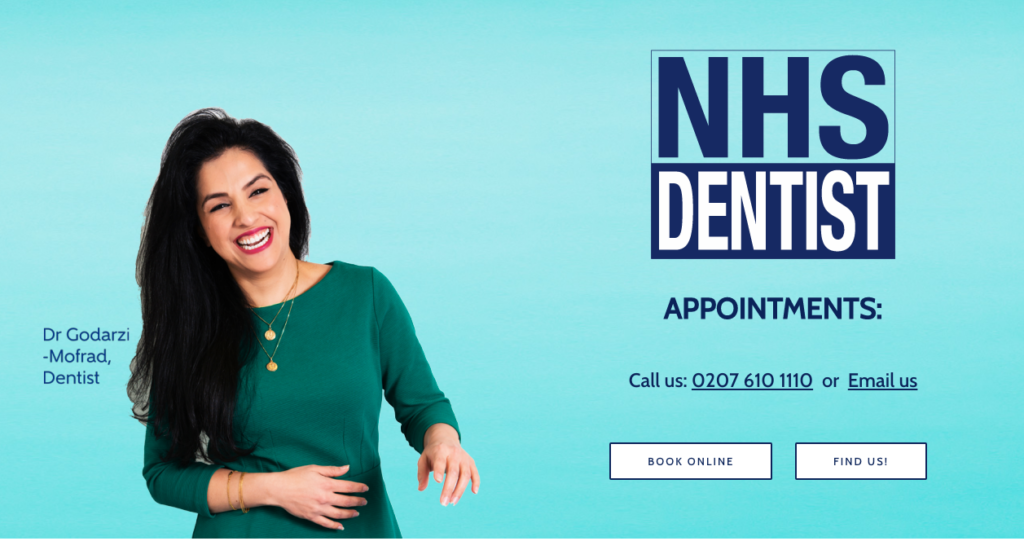 NHS Dentist Website