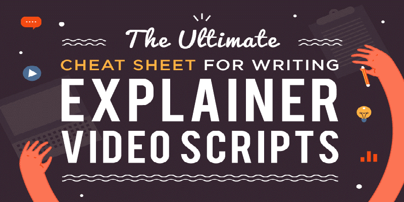 Infographic: The Ultimate Cheat Sheet for an Explainer Video Script