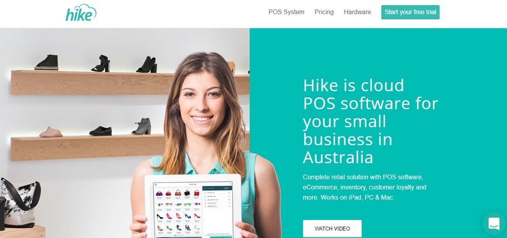 Hike App Landing Page